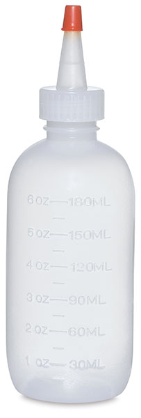 Plastic Squeeze Bottle, 6 oz