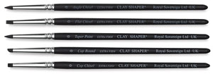 Clay Shaper Tools, Set of 5
