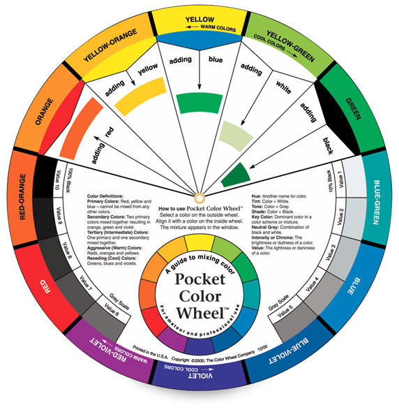 Artist S Color Wheel Blick Art Materials