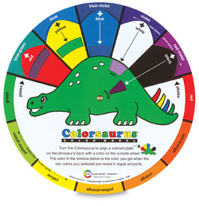 Colorsaurus Color Wheel