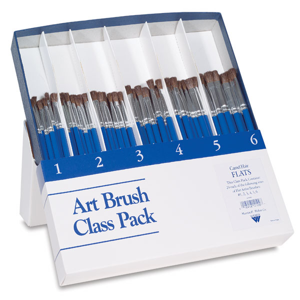 Art Brush Class Pack, 144 Brushes