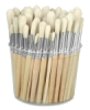 Tub of 144 Brushes, Round