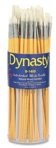 Synthetic White Bristle Brushes