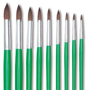 Set of 9 Brushes