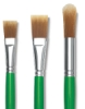 Blick Economy Golden Nylon Brushes