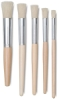 Blick Economy White Bristle Stencil Brush