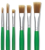 Blick Economy Golden Nylon Brushes and Sets