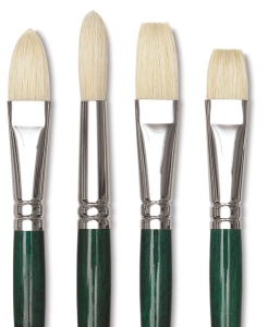 winsor newton winton hog bristle brushes blick art materials