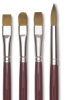 Red Oil Sable Brushes