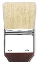 Blick Masterstroke Pure White Hog Bristle Skywash
