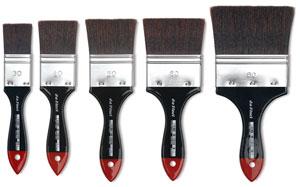Top Acryl Restoration Mottler Brushes