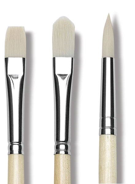 Top Acryl Synthetic Bristle Brushes