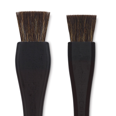 Yasutomo Lacquered Handle Hake Brush