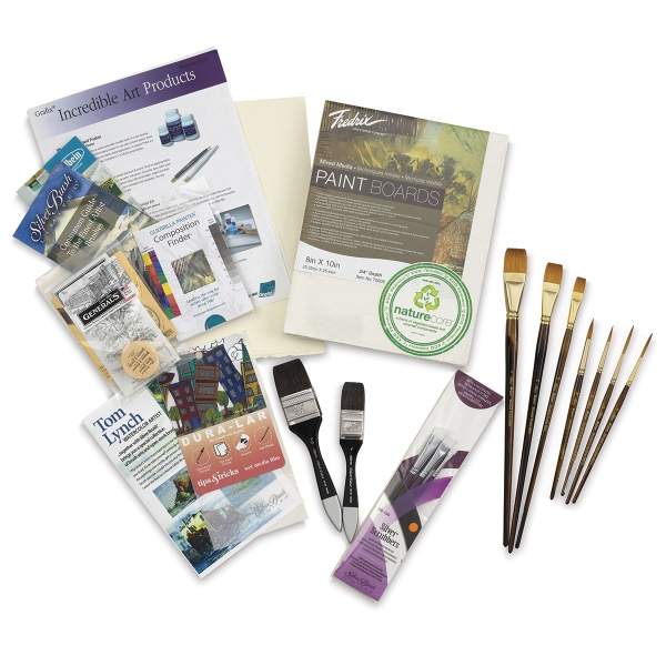 Tom Lynch Watercolor Workshop Brush Set