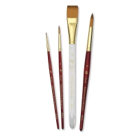 Heritage Synthetic Sable Brushes, Set of 4