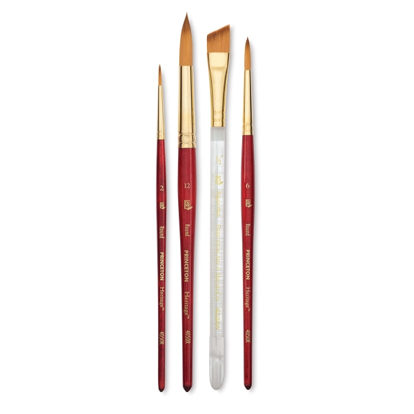 Princeton Artist Brush Select Synthetic Brush Angular Shader 1//2 Width