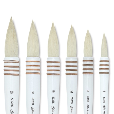 Atelier Quill Series Goat Hair Brushes