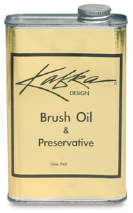 Brush Oil and Preservative