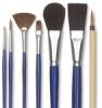 Blick Ceramic Glaze Detail Brush Set