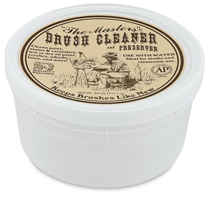 Brush Cleaner and Preserver, Classroom Tub