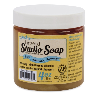 Linseed Studio Soap, 4 oz