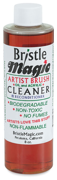 Brush Cleaner, 8 oz