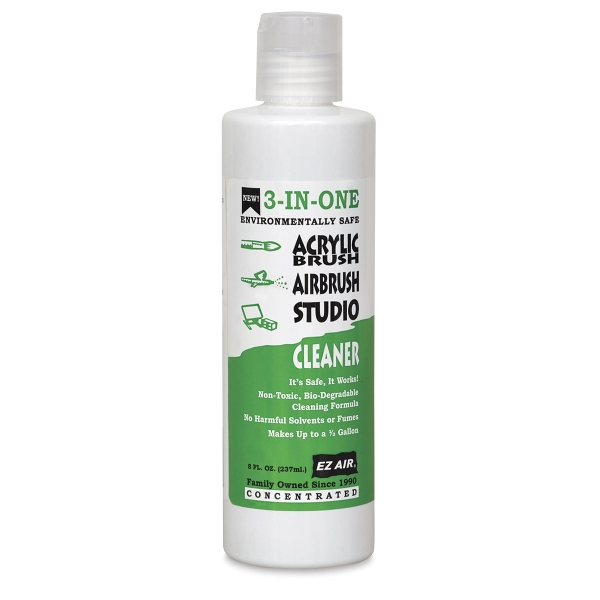 3-In-One Cleaner, Acrylic/Airbrush/Studio Cleaner