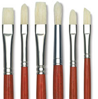 Da Vinci Maestro 2 Hog Bristle Brushes