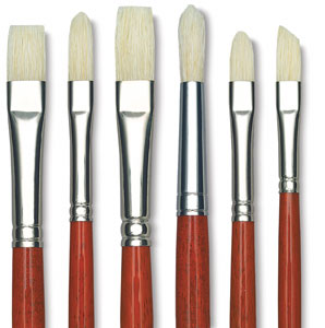 Maestro 2 Hog Bristle Brushes