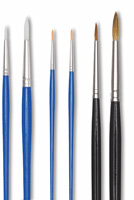 Blick Watercolor Brush Detail Set