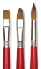 Blick Master Kolinsky Sable Long Handle Brushes