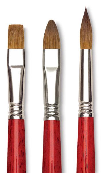 Blick Master Kolinsky Brushes
