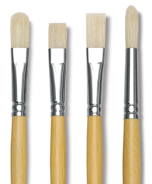 Academic Bristle Brushes
