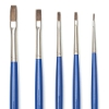 Flat, Set of 5, Long Handle
