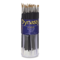 Dynasty Red Sable Style Round Brushes