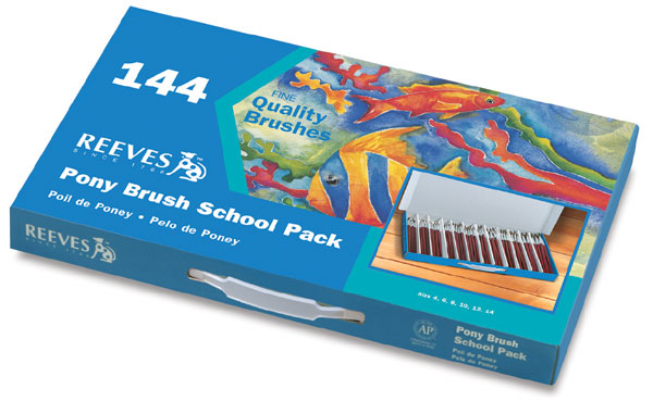 Brush School Pack of 144