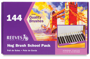 Bristle School Brushes, Pkg of 144