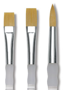 royal soft grip golden taklon brushes blick art materials