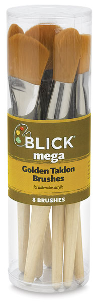 Mega Golden Taklon, Set of 8