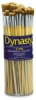 Bright Gold Nylon Acrylic Bright Brushes, Canister Set of 50