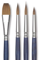 Escoda Optimo Kolinsky Sable Watercolor Brushes