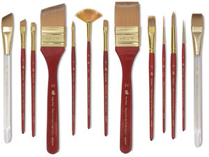 Series 4050 Heritage Brushes