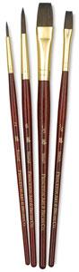 Camel Brushes, Set of 4 (#9121)