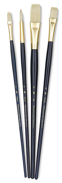 Bristle Brushes, Set of 4 (#9131)