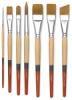 Princeton Snap! Golden Taklon Brushes