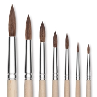 Faux Camel Watercolor Brushes