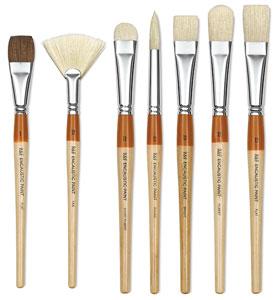 R&F Encaustic Brushes