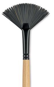 Fan, Size 6, Long Handle