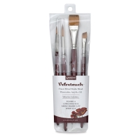 Velvetouch Brushes, Set of 4