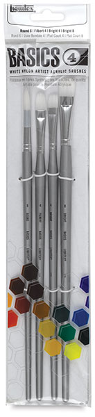 Basics Brushes, Set of 4